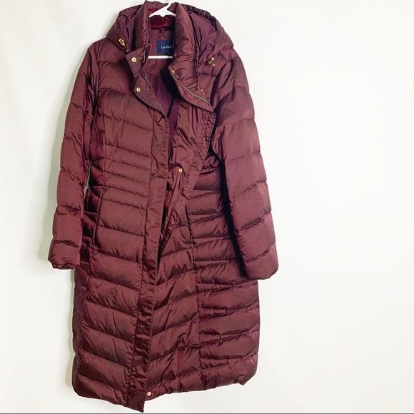 Lands' End Jackets & Blazers - Land's End Women's Long Down Coat